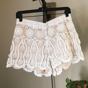 Anthropologie Knit Shorts
